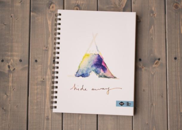 Kertas Sketchbook Untuk Cat Air