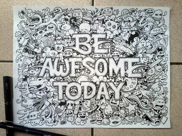 Membuat Doodle Art