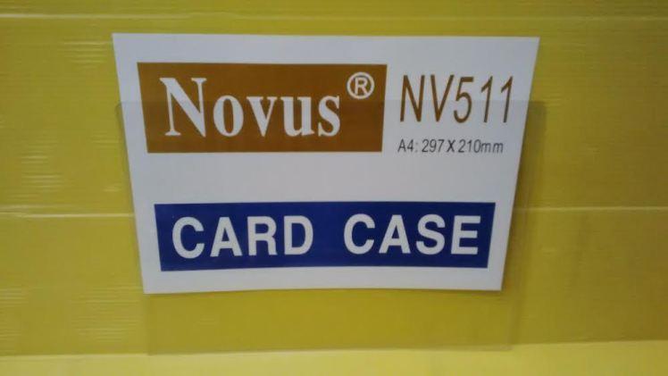 novus card case